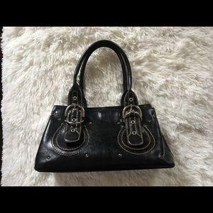 Aldo Black Leather Tote / Shoulder Bag.
